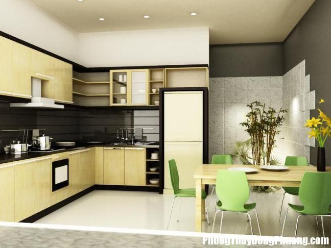 48 ee66 Cách thiết kế phòng ăn đi liền với nhà bếp hợp phong thủy
