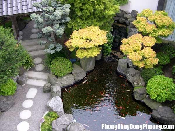 file.415842 Bài trí hồ nước trong sân vườn giúp nhà ở được tụ tài