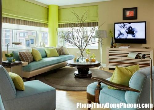 hol zeleno 1 155174 500x0 Bố trí ghế phòng khách để tiền bạc vào nhà như nước
