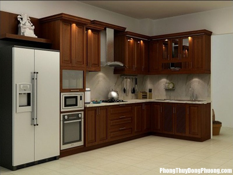 nha bep theo phong thuy 2152 phunutoday Vị trí quan trọng trong bếp nếu phạm đại kị dễ khiến nhà ở hao tài, làm mãi không giàu