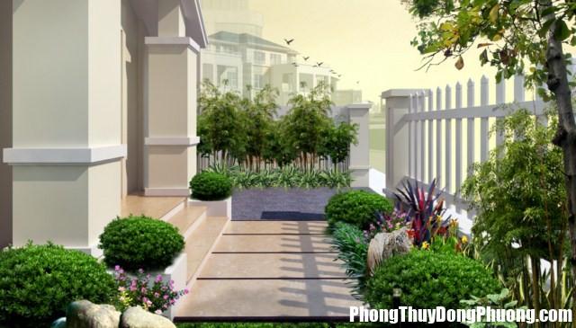 san vuon 2 Bố trí sân vườn rinh tài lộc và vượng khí cho ngôi nhà