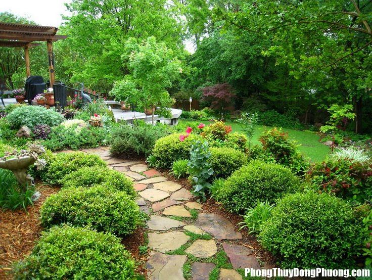 san vuon 3 Bố trí sân vườn rinh tài lộc và vượng khí cho ngôi nhà