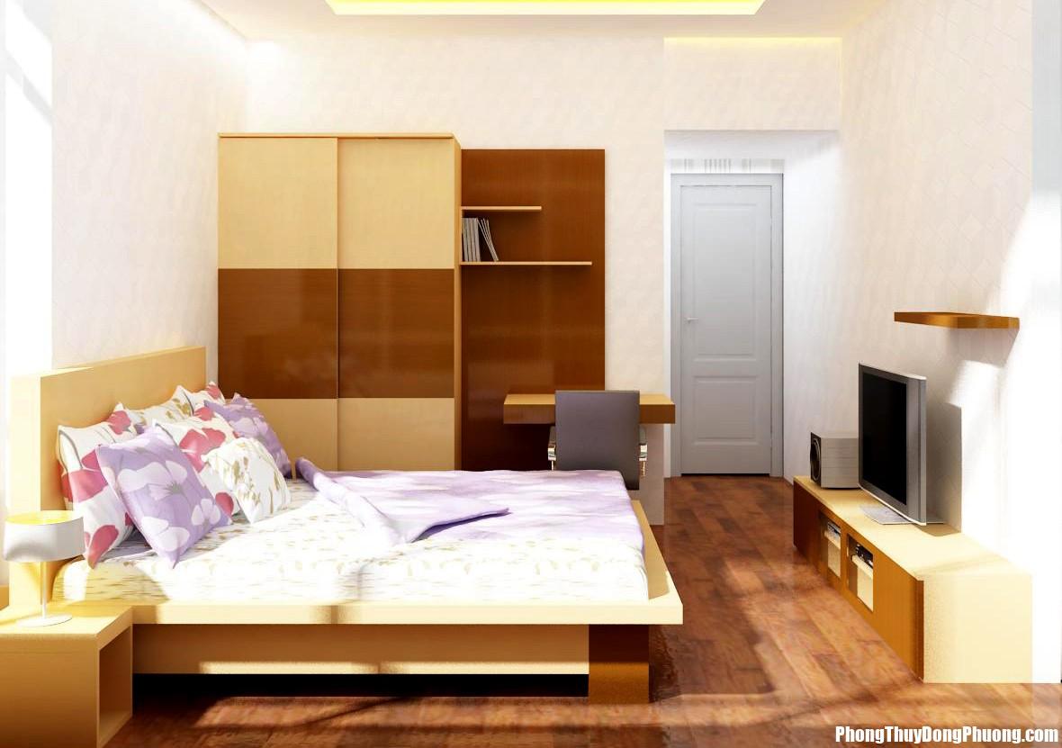 thiet ke noi that phong ngu cong nghiep Lắp cửa phòng ngủ cần đúng nguyên tắc chứ không được tùy tiện