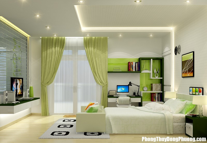 20141014135030468 thach cao phong ngu 6 Trang trí trần thạch cao tăng cường khí cho nhà ở