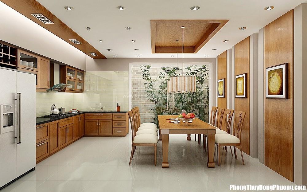 bep jamona heights Thiết kế phòng bếp cho căn hộ chung cư tăng cường vận khí