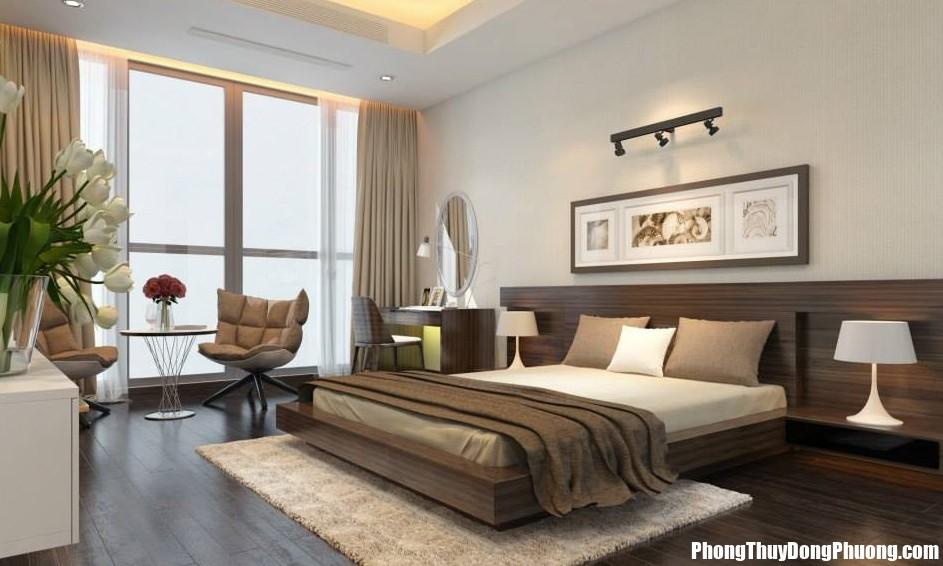 cac mau phong ngu chung cu vinh nghe an nhé Kê giường ở đâu trong phòng ngủ là tốt nhất ?