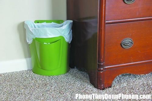 khong dat thung rac tuy tien trong nha Đặt thùng rác tùy tiện trong nhà hậu quả sẽ vô cùng xấu