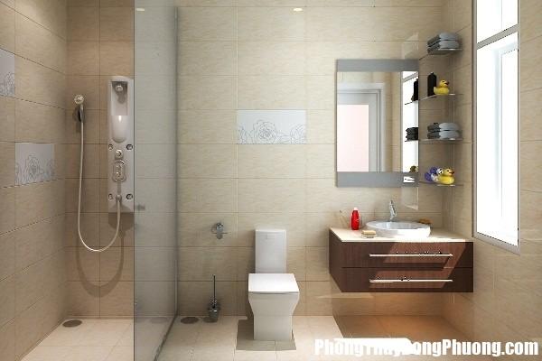 nguyen tac ve guong va cach cai thien phong thuy nha ve sinh 3 Cách đặt gương cải thiện phong thủy nhà vệ sinh