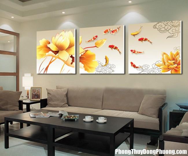 tranh bo58 ZAQA Những loại tranh treo trong phòng khách sẽ mang lại nguồn năng lượng tốt
