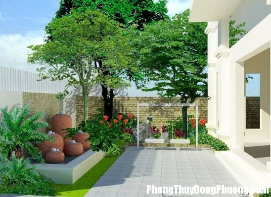095741baoxaydung 1 Trồng cây theo phong thủy làm tăng thêm khí vượng cho nhà ở