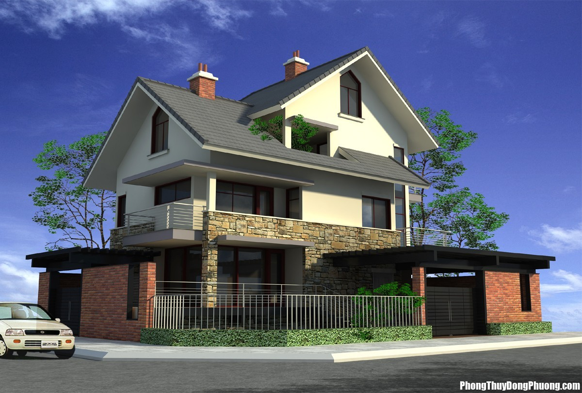10 dieu dai ky trong thiet ke nha o Xây dựng nhà ở tuyệt đối tránh xa 10 đại kị này để mái ấm được nhiều phúc khí