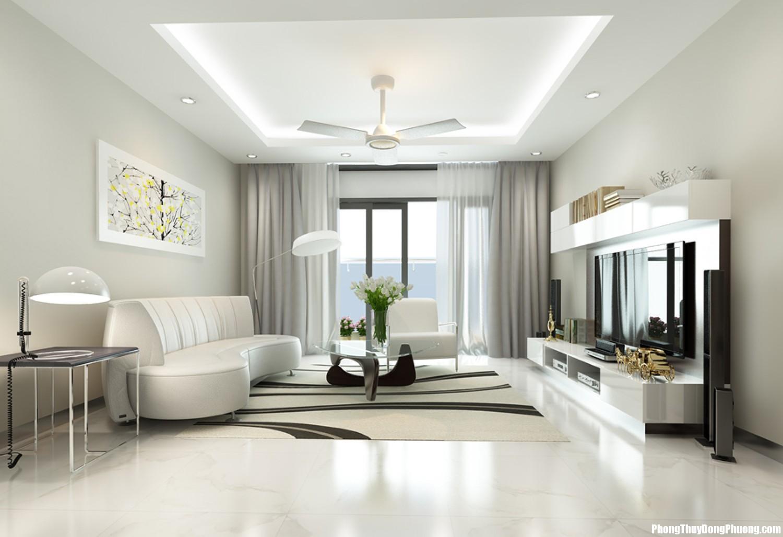 2 111 Bí quyết trang trí nhà bằng gam màu trắng chiêu tài lộc