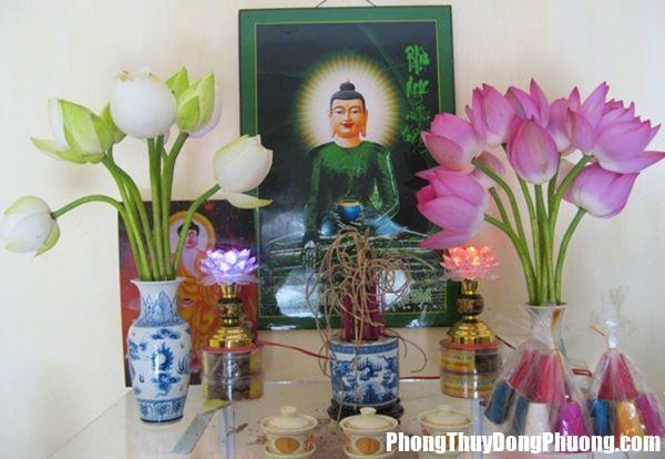 dat 4 loai hoa nay len ban tho gia chu phat nhu dieu gap gio Đặt các loại hoa này lên trên bàn thờ, gia chủ phất như diều gặp gió